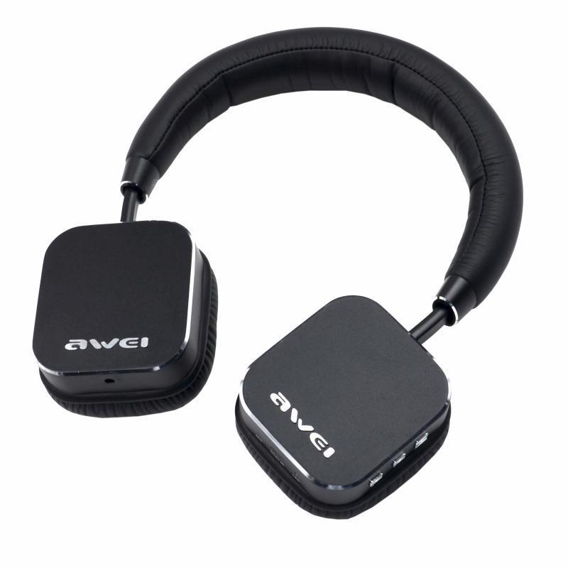 Bluetooth наушники awei 900bl с микрофоном. Отличный звук, легкое использование, крутой дизайн.
