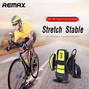 Автодержатель Remax RM-C08 Phone Holder for Bicycle Black/Yellow