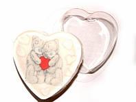 Форма пластиковая для мыла Сердце