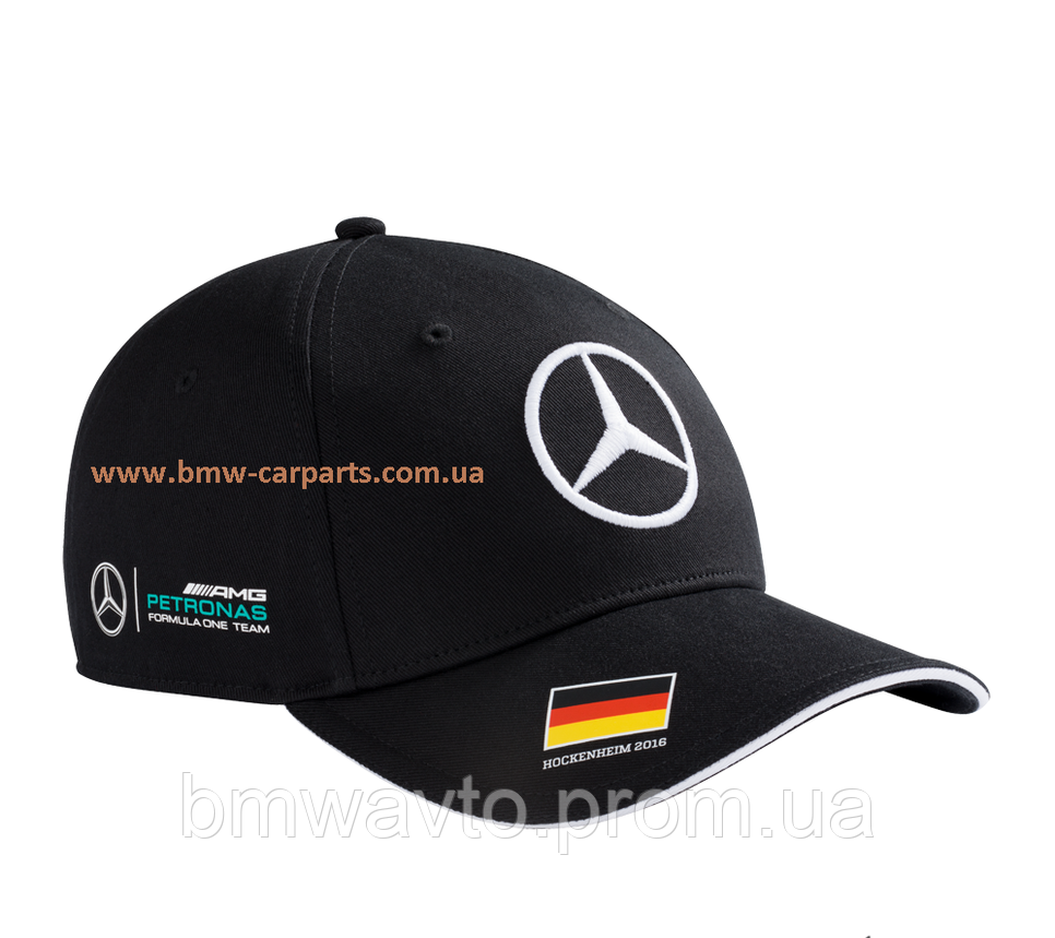 Бейсболка Mercedes-Benz Men's cap, Rosberg, Germany, фото 2