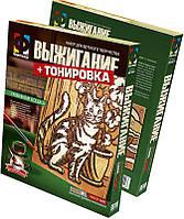 Набор для творчества Фантазер Выжигание и тонирование Любимая кошка (367009)