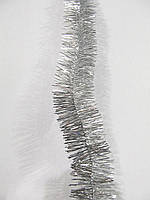 5 см диаметр украшение Мишура дождик Серебро