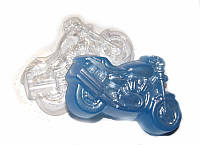 Форма пластиковая для мыла Байк