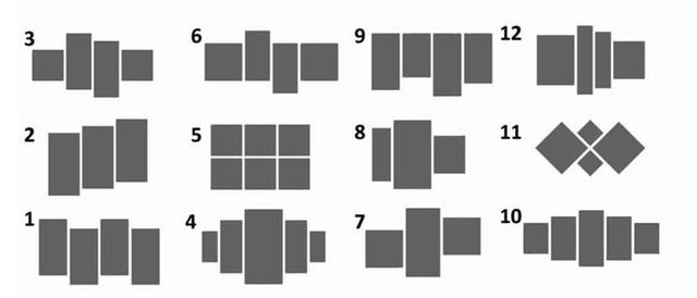 Типы модульных картин
