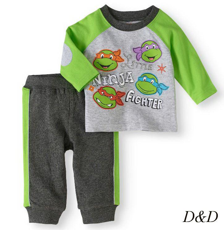 Комплект одягу двійка штани і кофта для хлопчика 12 місяців, бавовна