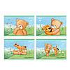 "Альбом 12л 120 г/м2 ""Kite"" PO18-241 ""Popcorn Bear"" лак"