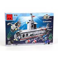 Конструктор Brick (подводная лодка) Субмарина 816