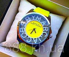 Брендовые наручные часы Marc Jacobs лимонные 1441