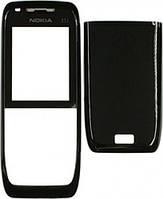 Корпус для телефона Nokia E51 чёрный High Copy (передняя и задняя панель)