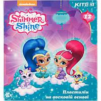 "Пластилин восковый Kite SH18-1086 ""Shimmer and Shine"", 12 цветов (Y)"