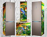 Дизайнерские наклейки на холодильник Птички