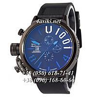 Часы U-Boat Italo Fontana U-1001 All Black-Blue
