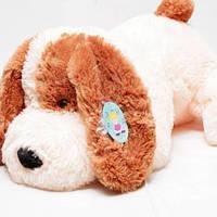 Плюшевая лежачая Собака 75 см., фото 1