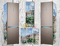 Дизайнерские наклейки на холодильник Мистериум