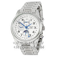 Часы Longines Master Collection Moonphases Steel Silver-White