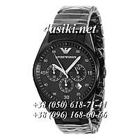 Часы Emporio Armani AAA AR1400 Black-Silver реплика, цена 2 352,63 ... 374a0234c93