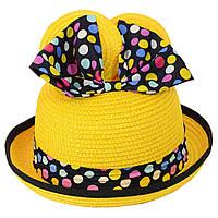 Шляпа детская 12017-34 желтый
