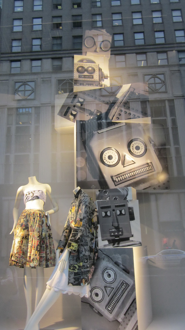 Раздел Длинные юбки в пол - фото teens.ua - Нью-Йорк,витрина Prada