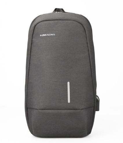 Сумка - рюкзак через плечо Kingsons KS 3173 W usb