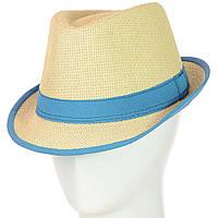 "Шляпа Челентанка 12017-1 бирюзовый ""CHR-4502"""