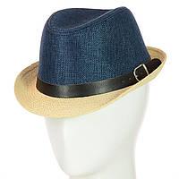 "Шляпа Челентанка 12017-10 джинс ""CHR-4502"""