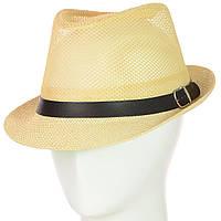 Шляпа Челентанка 12017-11 бежевый