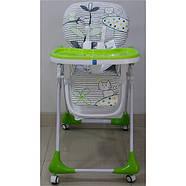 Стульчик для кормления с выдвижным столиком M 3233 Cat Green Гарантия качества Быстрая доставка, фото 7