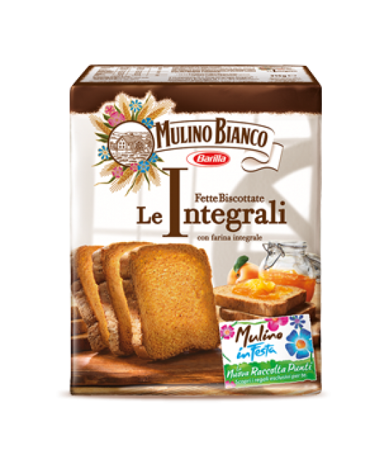 Сухарики Mulino Bianco Le Integrali 315г