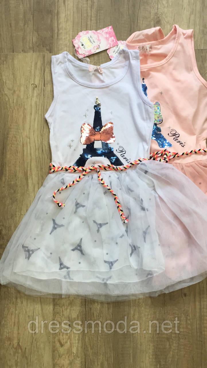 Платье для девочек S&D 116-146 р.р.