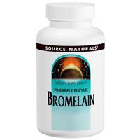 Бромелайн 2000 GDU/г 500 мг 60 таб ферменты энзимы для пищеварения  чистки сосудов Source Naturals USA