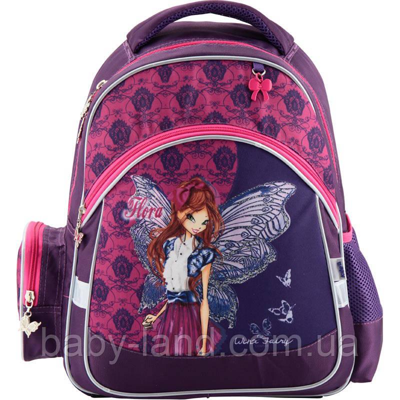 97c3db6b8af1 Рюкзак школьный ортопедический Winx Fairy couture Kite W18-521S ...