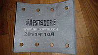 Накладка колодки тормозной задней Foton AC3251/2, HOWO, CAMC