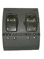 Накладка колодки тормозной передней CAMC HN3250
