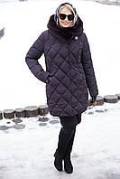 Женское зимнее пальто Валенсия,большие размеры 50-64р