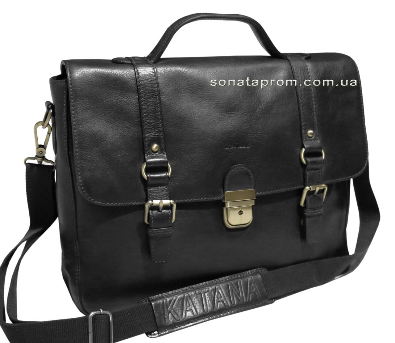 bbf3aeac3be4 Кожаная сумка на плечо Katana Франция, цена 3 599,10 грн., купить в ...