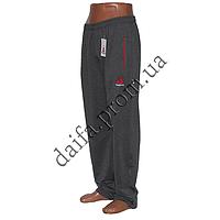 Мужские трикотажные брюки REEBOK серые R01-3 (44-52 р-р) пр-во Украина. Оптом в Одессе.