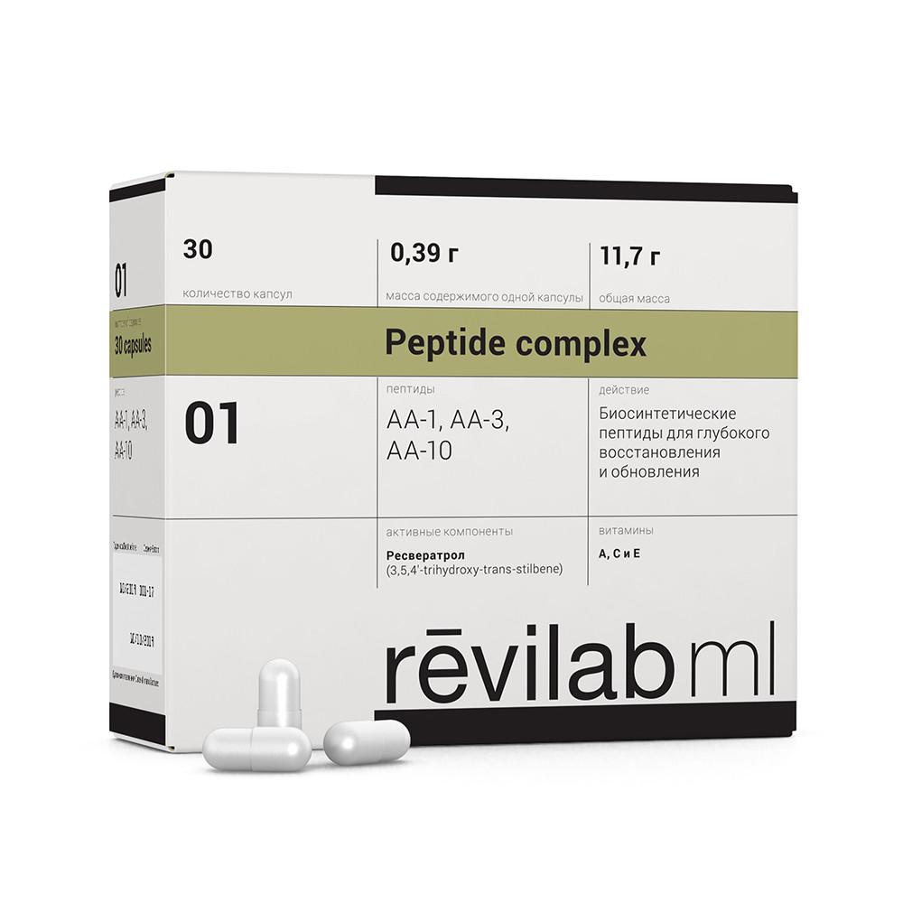 Revilab ML № 01 (anti-age и онкопротектор) 30 капсул по 0,39 г.