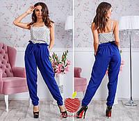 Трендовые брюки с высокой талией