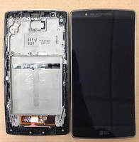 LG H950 H955 G Flex 2 дисплей в зборі з тачскріном модуль з рамкою чорний