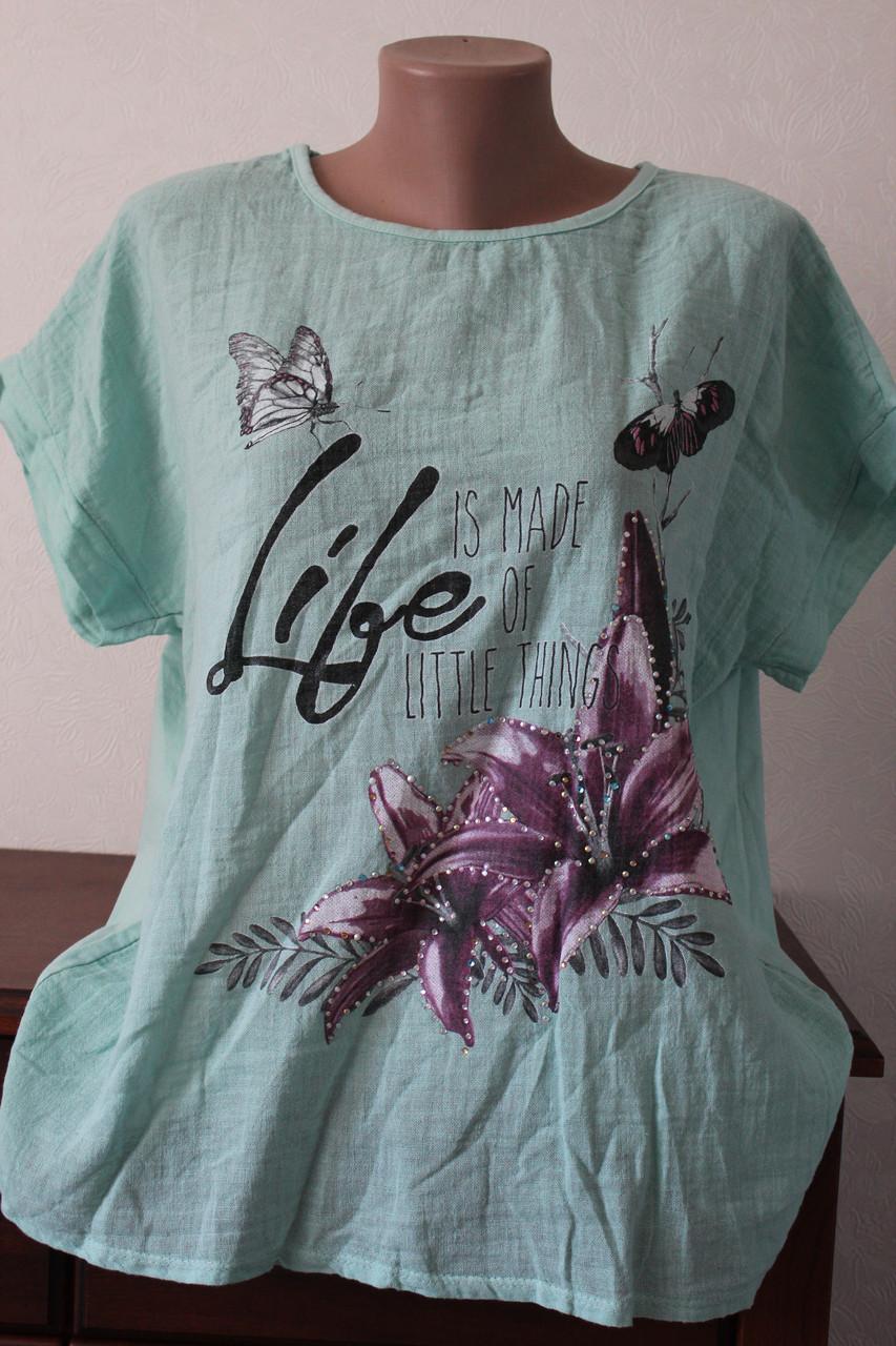 d4faf7ce8d8 Женская блузка лен тонкий - Elenka - женская одежда оптом  юбки и сарафаны  женские