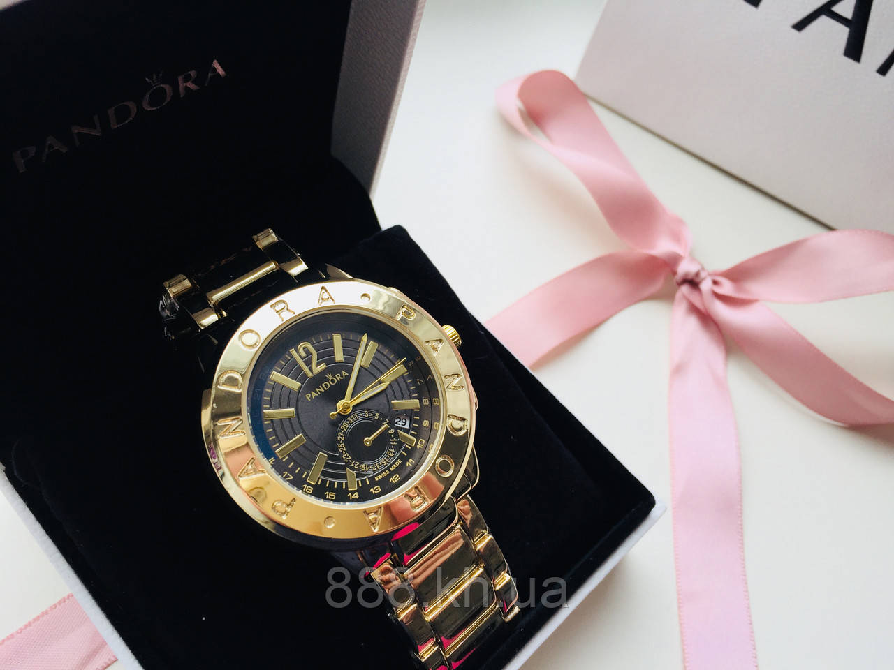 Наручний годинник жіночі Pandora 23031816, стильні годинники на подарунок