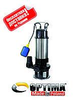 Насос фекальный с режущим механизмом Optima V1500-QG 1.5кВт
