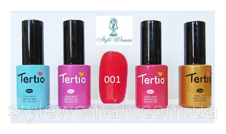 Гель лак Tertio №001 10мл