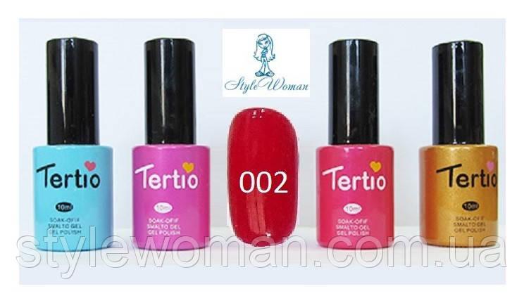Гель лак Tertio №002 10мл