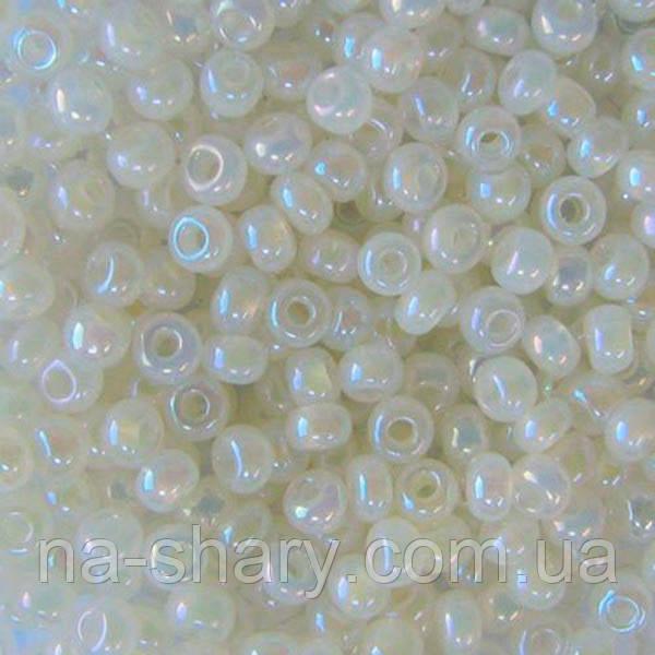 Чешский бисер для рукоделия Preciosa(Прециоза) оригинал 50г 33119-57206-10 жемчужный