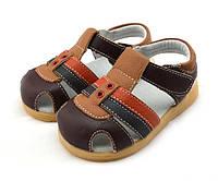 Кожаные сандалии для мальчика Boocora, размер 26,27,28