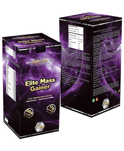 Гейнер для набора массы ELITE MASS GAINER 1-3 кг