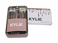 Набір кистей Kylie (Кайлі) Professional Brush Set 12в1 (чорні), фото 1
