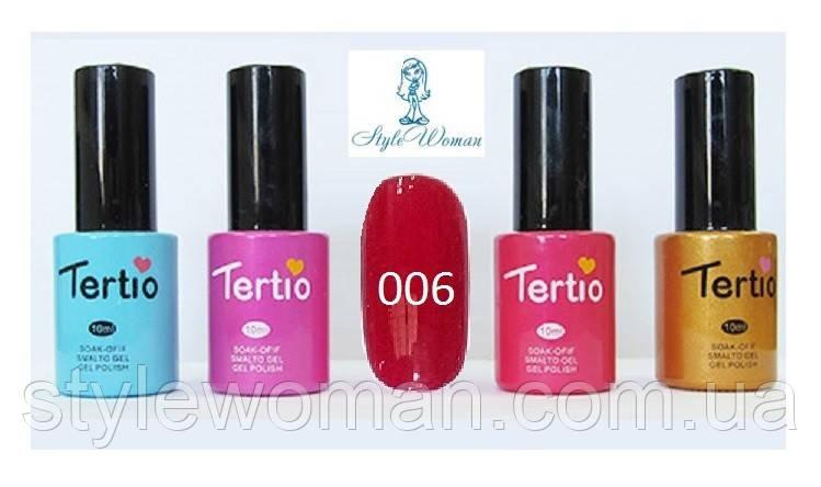 Гель лак Tertio №006 10мл