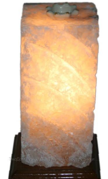 Соляной столб - аромалампа  2 в 1